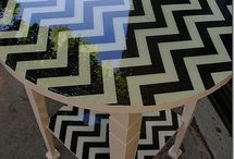 Painted Furniture: Tables