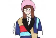 Fashion illustrations  with Tak.Ori