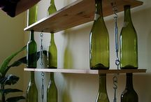 Wine bottles are not just for wine!
