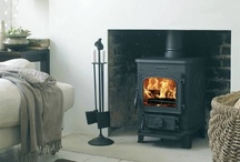 Wood burner : fireplaces / by Lorraine Duffin