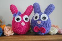 Crochet - Easter / Easter crochet goodness :)