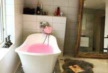 Lovely new bathroom / Vårt nya efterlängtade badrum