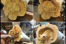 Cub carving