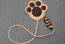 ΒΕΛΟΝΑΚΙ Σελιδοδείκτες Crochet Bookmarks / Σελιδοδείκτες Bookmarks