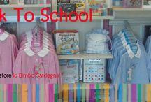 Back To School 2014 / In tutti gli store Io Bimbo Sardegna