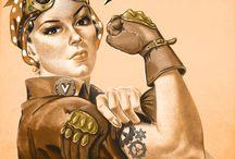 Steampunk / Steampunk artworks
