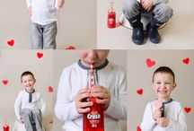 Valentine's Day children's portrait ideas