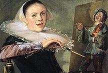 Judith Leyster / Judith Leyster (1609 - 1660) was een Nederlandse schilderes uit de 17e eeuw die zich vooral in genrestukken specialiseerde. Als een van de weinige vrouwelijke schilders in de Nederlanden tijdens de Gouden Eeuw was zij ook het enige vrouwelijke lid van het Haarlemse schildersgilde.