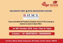 BHMS Delegate Visit | Riya Education / Delegate Visit at Riya. Come and meet the delegate from BHMS and get first hand information.