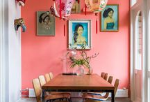 Kleur | Orange Copper / Orange Copper as a color in your home? Yes, it's possible.
