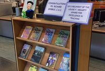 Displays / Library Book Displays. / by Stonehill College MacPhaidin Library