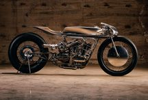 Cafe racer and tracker