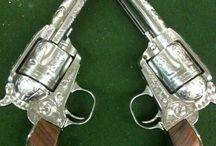 Pistols / any and all hand guns / by Richard Mirto