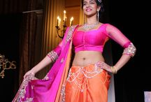 Fashion show, sarees, evening dresses / fashion show models, hair and make up.