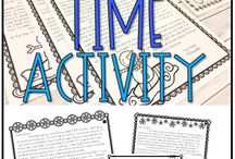MATH: Teaching Time / Looking for new and engaging activities for your telling time unit?! You'll definitely want to check out these projects and units!