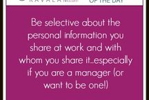 Be professional at work people!!!!!