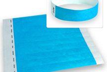 Bracelet Tyvek / Barcelet tyvek, papier, indéchirable, inviolable
