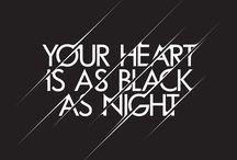 When in darkness