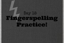 fingerspelling