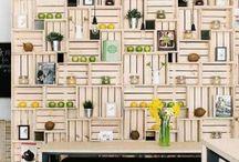 Establecimientos decorados con palets
