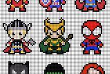 hama beads ninjago