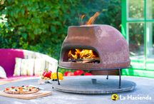 Multi-function Outdoor Ovens / A range of multi-functional outdoor cooking ovens which allow you to grill, bake and smoke food from the comfort of your own garden.