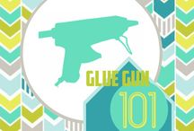 Diy projects with glue gun