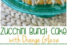 Zucchini bundt cake / by Connie Burgdorf