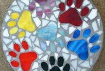 stepping stone mosaic