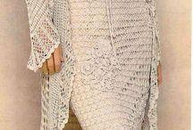 Suknie na szydełku