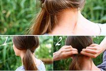 Cabelos / Criatividade e modelos de cortes e penteados