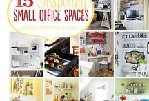 Office / Decorating and organzation ideas for the office space