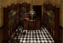 SetDesign (Art Direction) / Art Direction project based in sets-designs about the spanish novel The Shadow of the Wind.