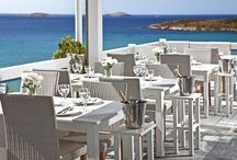 Cyclades Restaurant / Cyclades Restaurant is located within Hotel Perrakis, beautifully situated overlooking the Aegean Sea. We offer an array of delicious dishes that is fused from traditional Greek and Cycladic cuisine and other cultural influences to take guests on a culinary journey. We insist on nothing less than using the freshest and finest ingredients in order to ensure maximum satisfaction!