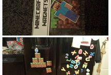 Minecraft Birthday - #minecrafty / I had to create everything for my son's 6th birthday party favors since Minecraft doesn't make any party supplies.