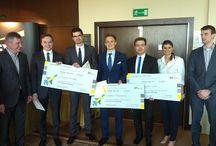 EY Financial Challenger 2014 / Zespół reprezentujący Szkołę Główną Handlową w Warszawie wygrał X edycję konkursu EY Financial Challenger.