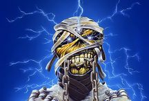 Art - Derek Riggs / Derek Riggs, the creator of Eddie the Head, the mascotte of Iron Maiden. The album cover of PowerSlave and Somewhere in time are my favourites.