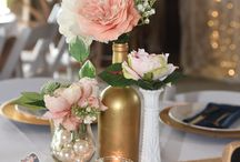 Shabby chic and vintage wedding