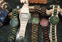 WeWood Watches / Unique wooden watches from 100% recycled and reclaimed wood.