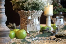 Entertaining:  Tablescapes / Creating tablescapes is one of my favorite things to do.  This board includes my settings that I create and post at least once per month and other settings I love.  It also includes anything related to setting a table.  / by Turnstyle Vogue