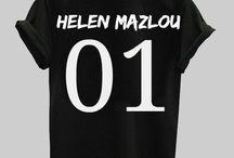 Helen Mazlou Tshirts