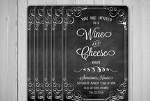 *Wine & Cheese party*