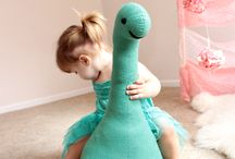DIY Nessie stafed animal