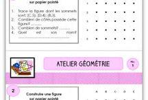 Maths géométrie cycle 3