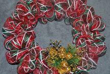 Deco Mesh Wreaths / by Gwen Leggett