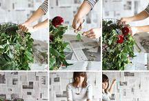 Todo con flores!