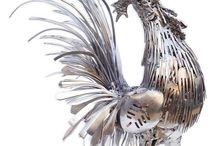 Metaal ornamente