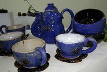 my artwork / tea set