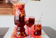 ponche de frutas sem alcool