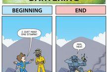 Fallout & Skyrim